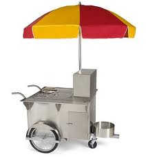 portable hot dog stand